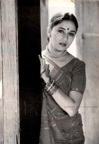 Madhuri in Mrityudand (1997).