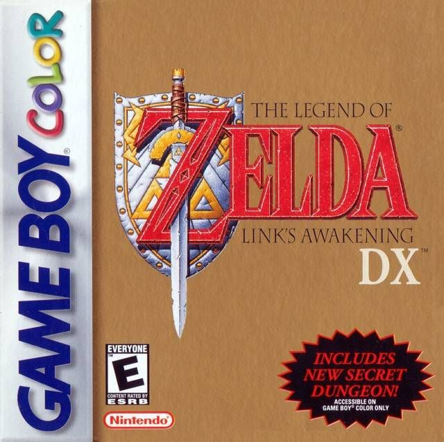 The Legend of Zelda Link's Awakening DX Game Boy Color