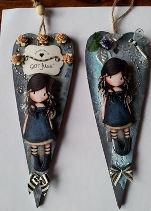 Gorguss Girl Altered Heart created by Samdra K2 - docrafts.co.uk
