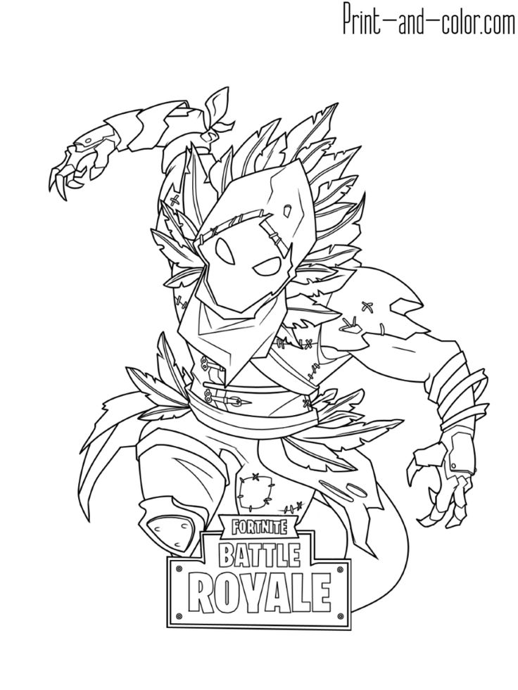 Fortnite coloring pages print and binder art for Fortnite disegni da colorare