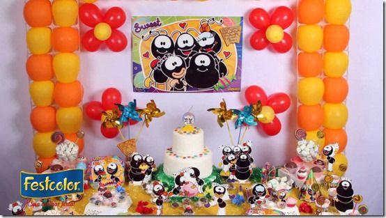 Festa Infantil Tema Smilinguido. Veja esta e outras ideias no nosso blog.