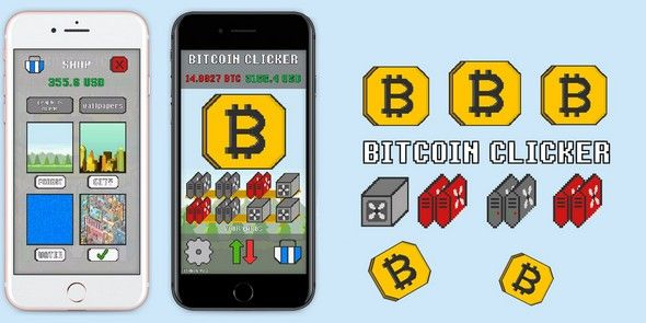 BITCOIN CLICKER - Download Source Code FULL - Free Unity