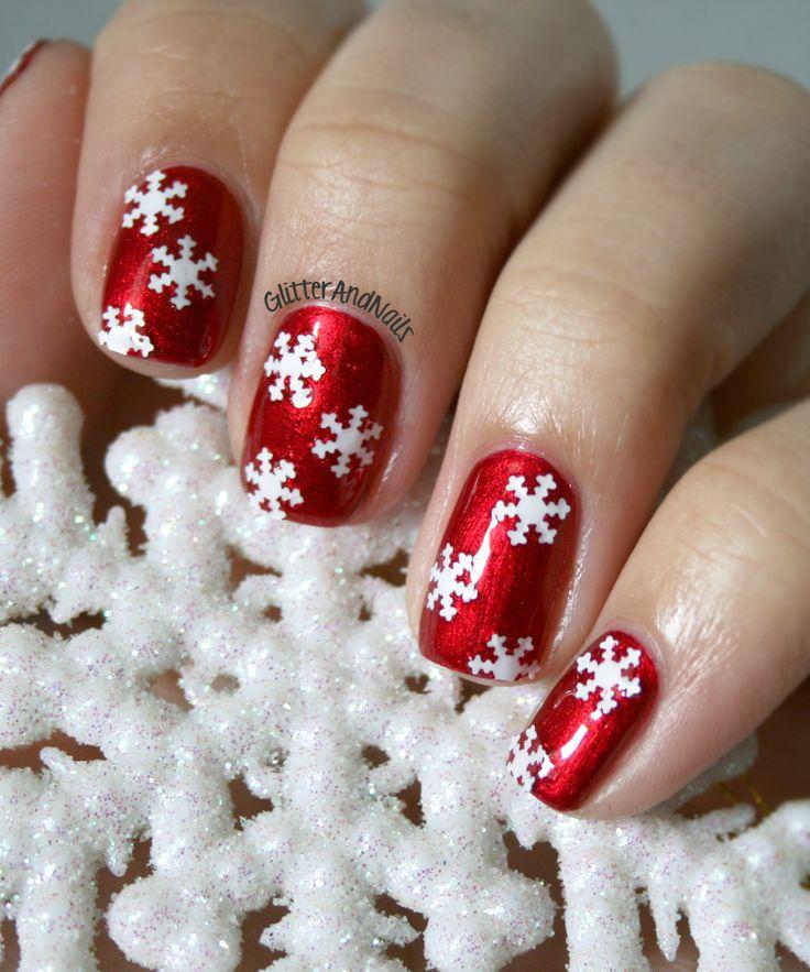 Christmas nail designs tumblr | Christmas nail art tutorial | Best christmas nail design ideas | Christmas nail design ideas 2013.....