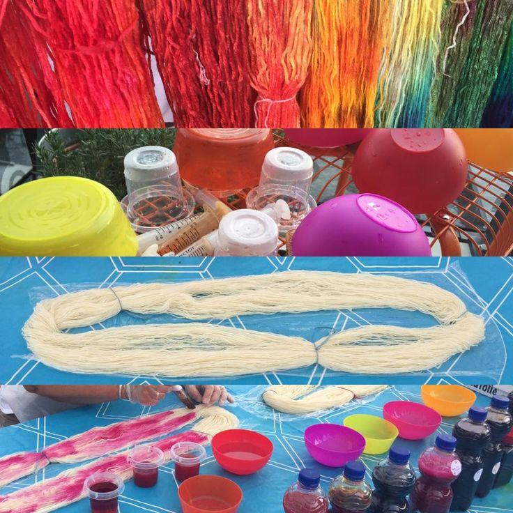 Verf een streng wol in de kleur van je dromen bij de leuke make & take van DraadKracht tijdens KNIT&KNOT op 17,18 en 19 maart. Meer weten? Kijk snel op www.knitenknot.nl
