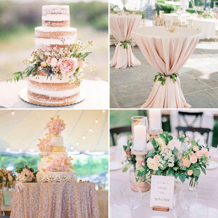 Champagne and Blush Wedding Inspiration