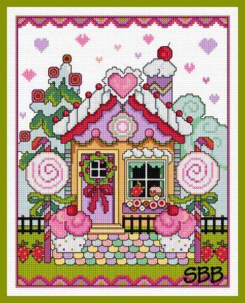 Lesley Teare Gingerbread House