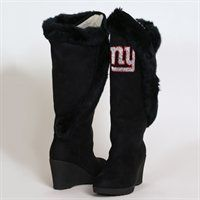 Cuce Shoes New York Giants Women's Cheerleader Boots - Black