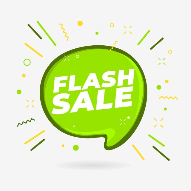 Flash Sale Banner Design Template Advertising Badge Banner Png And Vector With Transparent Background For Free Download