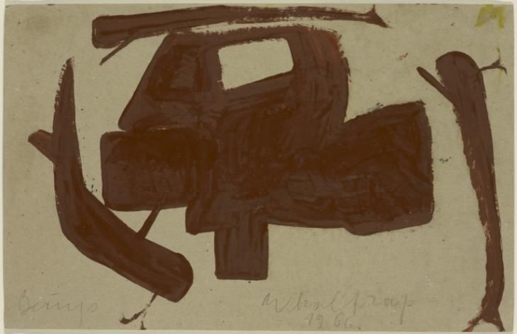 Artwork page for 'Whale trap', Joseph Beuys, 1966