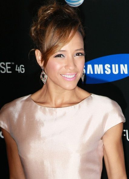 Dania Ramirez Loose Bun hair-and-beauty