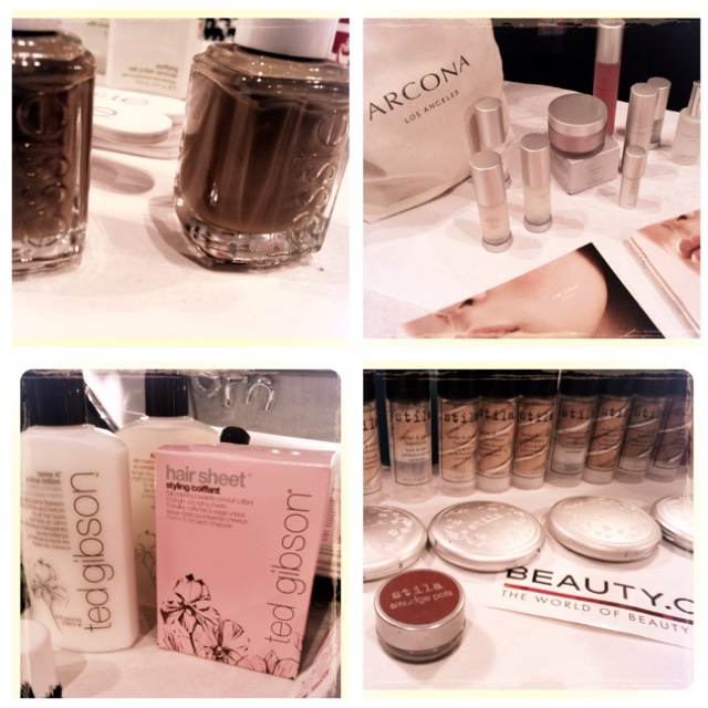 Backstage at Lela Rose with Arcona skincare, Stila cosmetics, Ted Gibson for hair and Essie for nails #nyfw