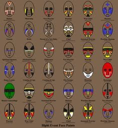 indian face paint kids - Google Search