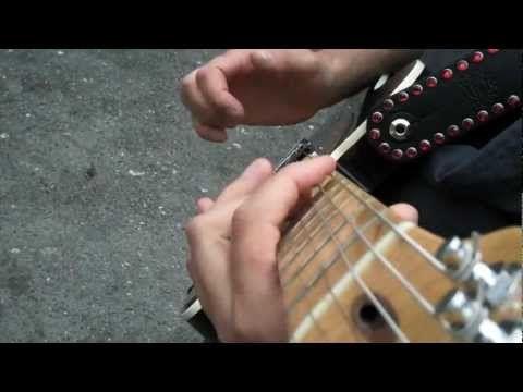 """Jude Gold - Slap Guitar Version of """"Funkytown"""" - YouTube"""