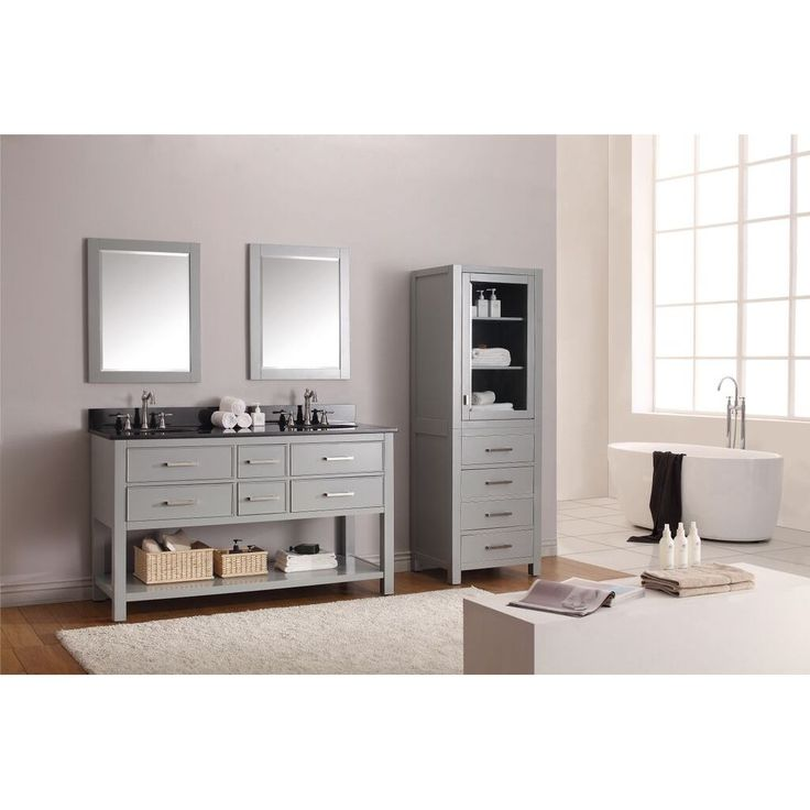 Image Result For Bathroom Vanity Styles  Style wise, bathroom vanities run the gamut from traditional or even romantic designsfor example, a cabinet topped by a sink and featuring storage via drawers or shelving, paired with an ornate mirrorand sleeker, more contemporary approaches that may...