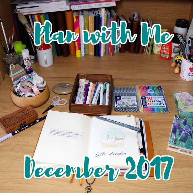 Looking for planning inspiration? Then why not head over to my blog to see how I have set up for December! #bujo #bulletjournal # planner