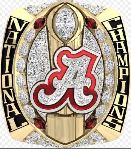 Ready Made 2016 New Arrival NCAA 2015 Alabama Crimson Tide Football National Championship Ring Replica SABAN