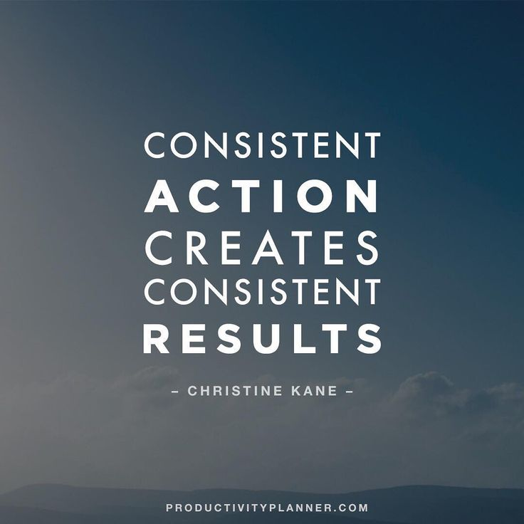 """""""Consistency is key  #beproductive #beconsistent"""""""