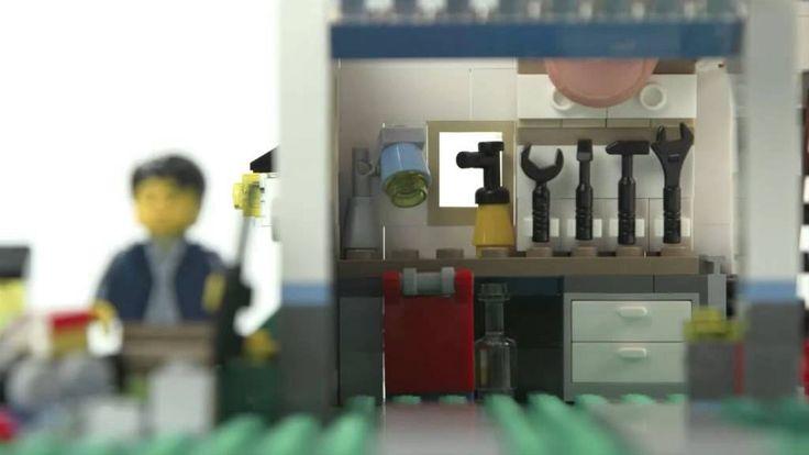 LEGO® Creator Designer Tips - Build a Garage Workshop