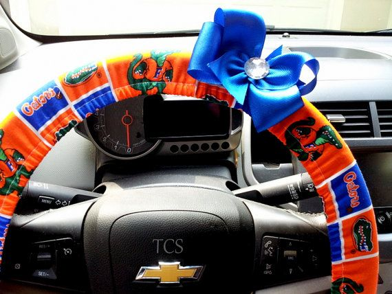 University of Florida Gators Steering Wheel by TurtleCoveStudio, $22.00
