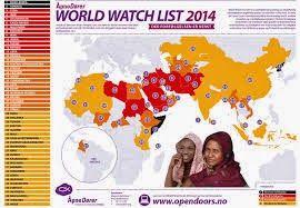 Blog Uma Visão Missionária: Igreja perseguida - Listagem 2014.