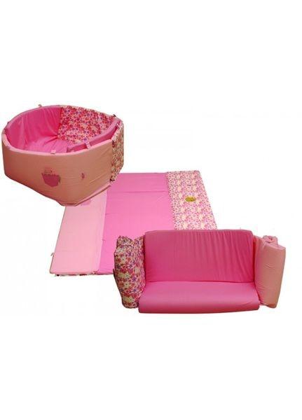 Růžová inovativní hrací podložka 3 v 1   Kampaň Minene   Nabídka vyprší: 14.04.2013