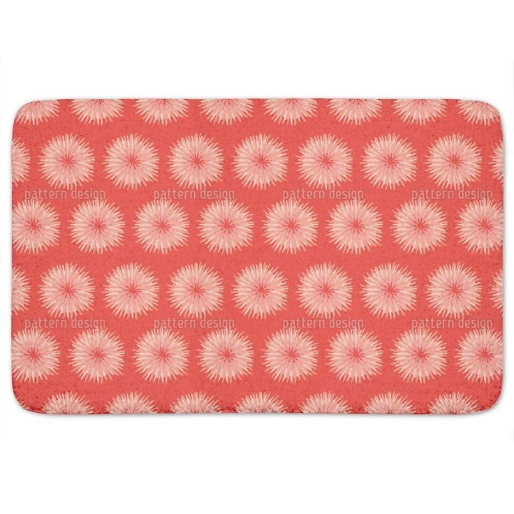Uneekee Dahlia Orange Bath Mat. The 25  best Orange bath mats ideas on Pinterest   Orange