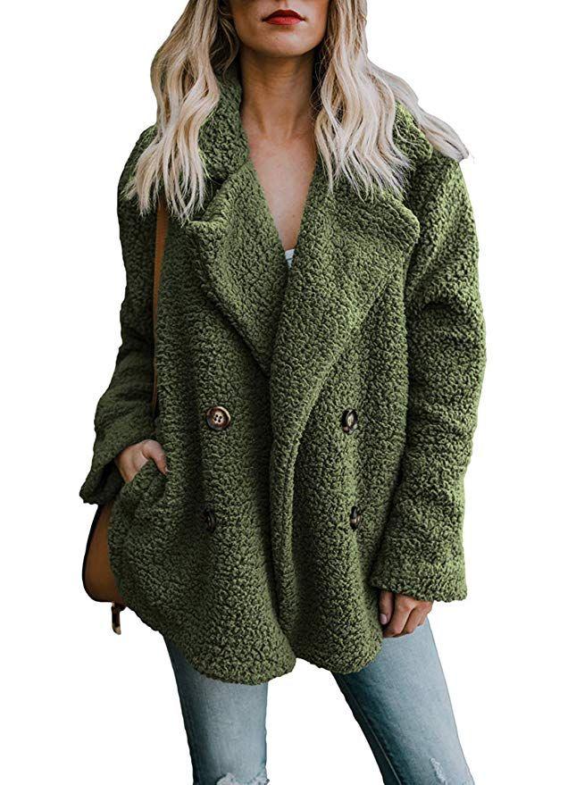 Lazzboy Women Jacket Coat Hoodie Teddy Fleece Flowers Print Casual Loose Irregular Hem Fluffy Outwear