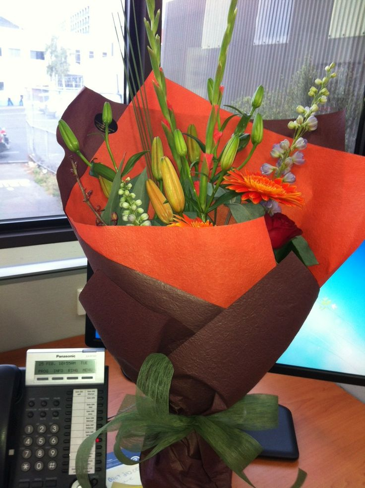 Flowers to mark the start of a new journey: Rebecca Byfield reflects on the last 2 1/2 years as she moves forward into the future.
