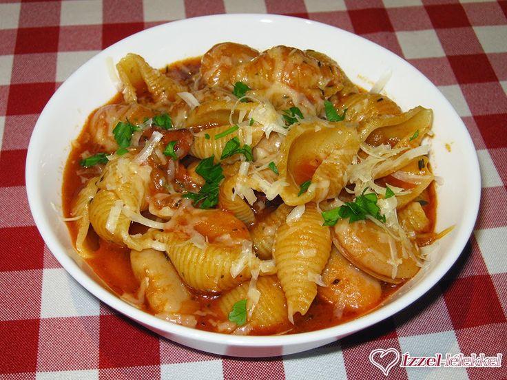 Ízzel-lélekkel készült receptek: Olasz babos tészta (pasta e fagioli)