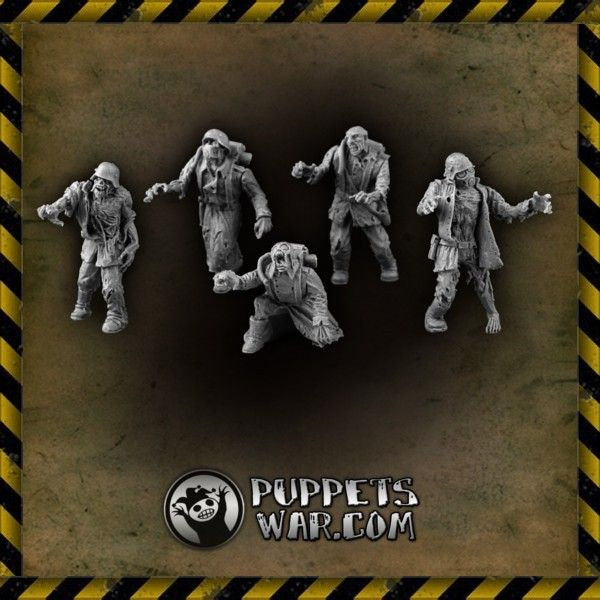 Brains! More brains! Our Zombie Korps set. https://puppetswar.eu/product.php?id_product=181