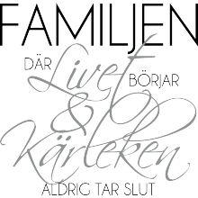 Familjen, där livet börjar