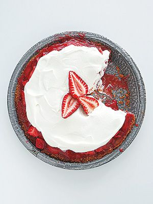 Martha Stewarts Strawberry Icebox Pie| Memorial Day, Great Ideas, Martha Stewart