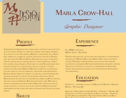 "Check out new work on my @Behance portfolio: ""resume"" http://be.net/gallery/47716163/resume"