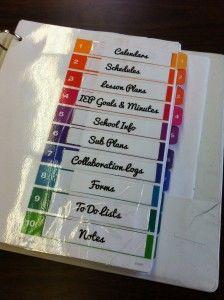 Best 25 Teacher Binder Organization Ideas On Pinterest
