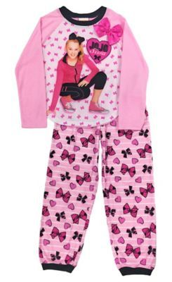 f6b5402a1 Girls JoJo Siwa Pajama Set