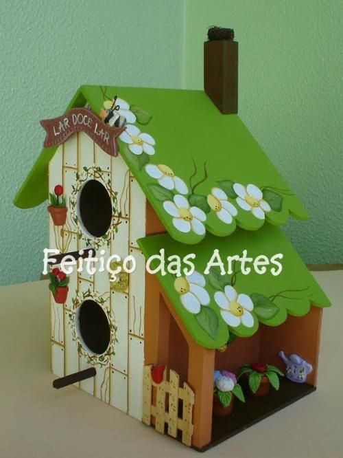 .Birds need houses too!!!                                                                                                                                                      Mais