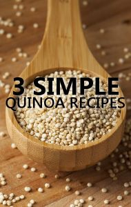 Dr Oz says quinoa provides several health benefits, so he asked a few experts to share their favorite recipes. http://www.drozfans.com/dr-oz-recipes/dr-oz-easy-quinoa-recipes-for-blueberry-pancakes-and-turkey-meatballs/