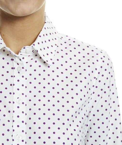 Sarah Oxford Shirt, CURRANT