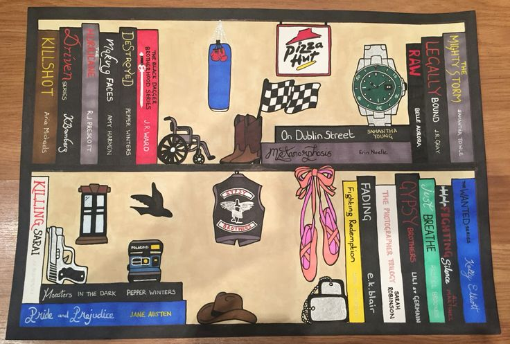 Customised Series BookShelf ⭐️Sammy⭐️  https://www.facebook.com/pages/BookShelves-and-Beyond/125443027800758