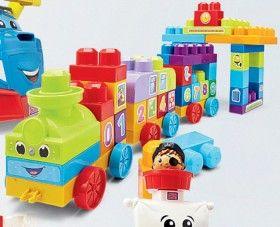 Mega Bloks 123 Learning Train
