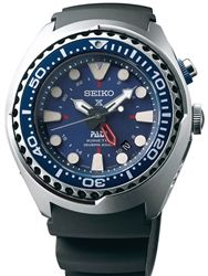 Seiko PADI Prospex Kinetic GMT Dual-Time Watch with Power Reserve Indicator #SUN065