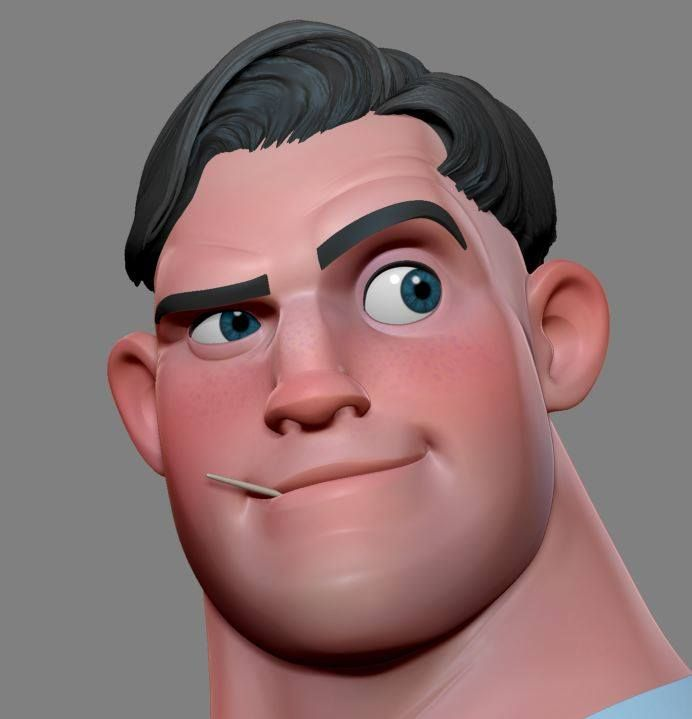 Plateia.co #ValoralaDiversidad #CreatividadsinLimites #PlateiaColombia #animacion #animation CG man #render #3d #character
