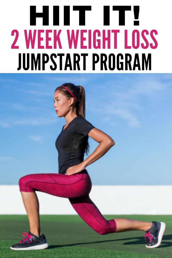 1 week weight loss gym programs