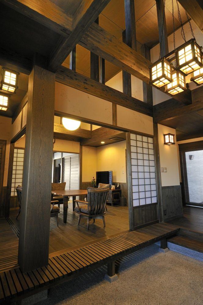 本格和風とモダン和風~和美庵~ (ポウハウス(POHAUS))|和テイストを取り入れた家|建築実例|埼玉・千葉・東京の注文住宅ならポラス【POLUS】の注文住宅