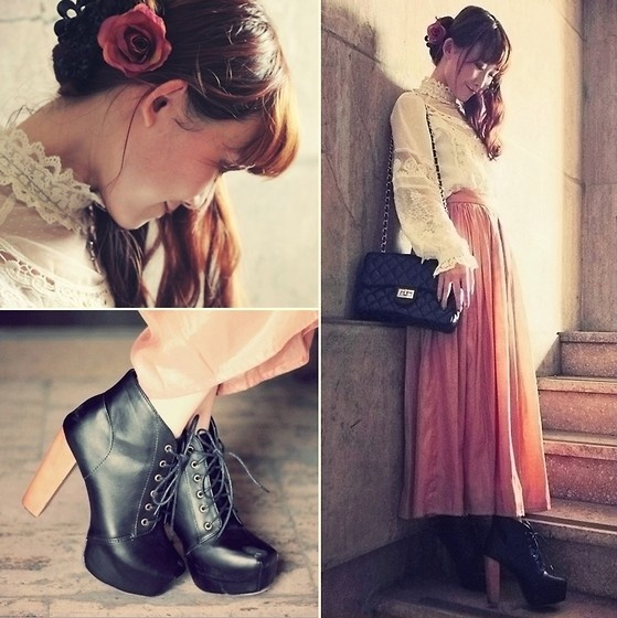 style from her head to her toes: Dream Closet, Bit Romatic, Quaint Fashion, Fashion Muse, Toes A Bit, Fashion Inspiration