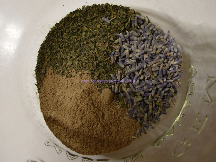 Comfrey root Nettle Lavender infusion for problem scalp