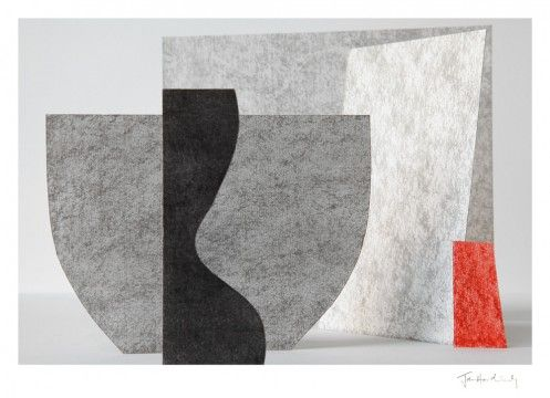 Jan Hardisty - Composition with Red