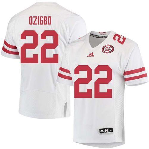 reputable site 4780f cf33f Nebraska Cornhuskers Devine Ozigbo #22 Football Jersey ...