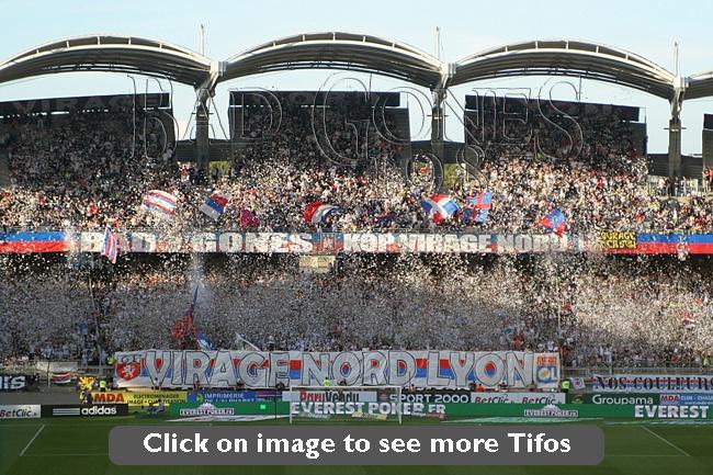 Top 20 Tifos of Bad Gones 87 | Olympique Lyonnais
