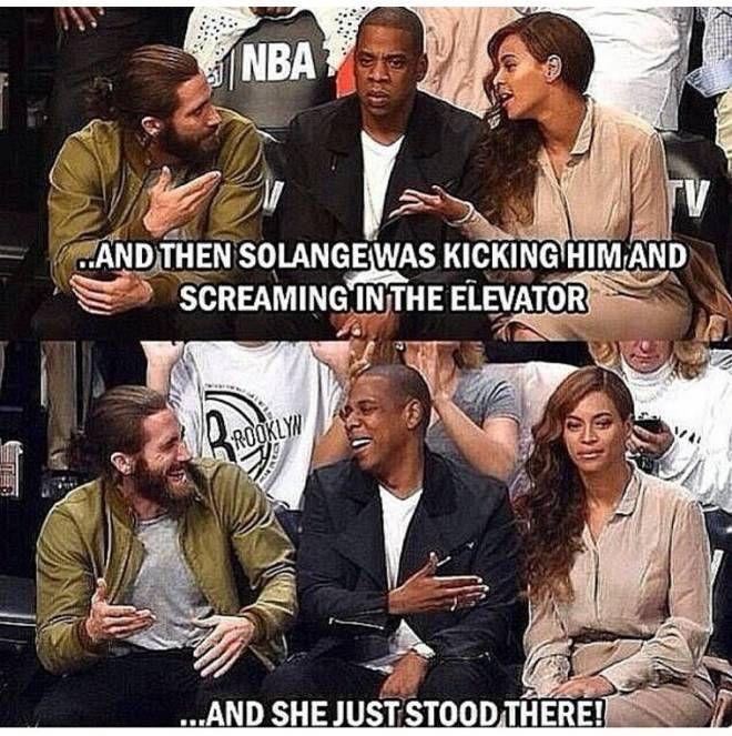 The Best Solange vs. Jay ZMemes |